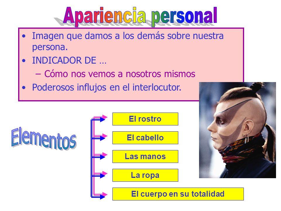 Normas de convención social Determinación cultural BURBUJA PERSONAL Clasificación ZONA ÍNTIMA (0-45 cm) ZONA PERSONAL (45-120 cm) ZONA SOCIAL (1,20 m