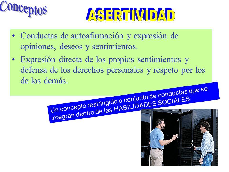 Habilidades sociales VERBALES Responder adecuada y positivamente ante los refuerzos de los demás.