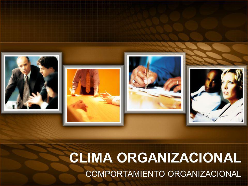 Se ha demostrado que el clima organizacional es el factor mas fuerte de influencia en los resultados de los empleados.