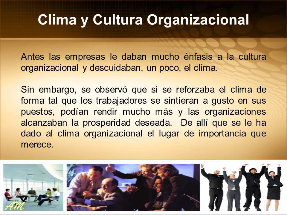 CLIMA ORGANIZACIONAL COMPORTAMIENTO ORGANIZACIONAL