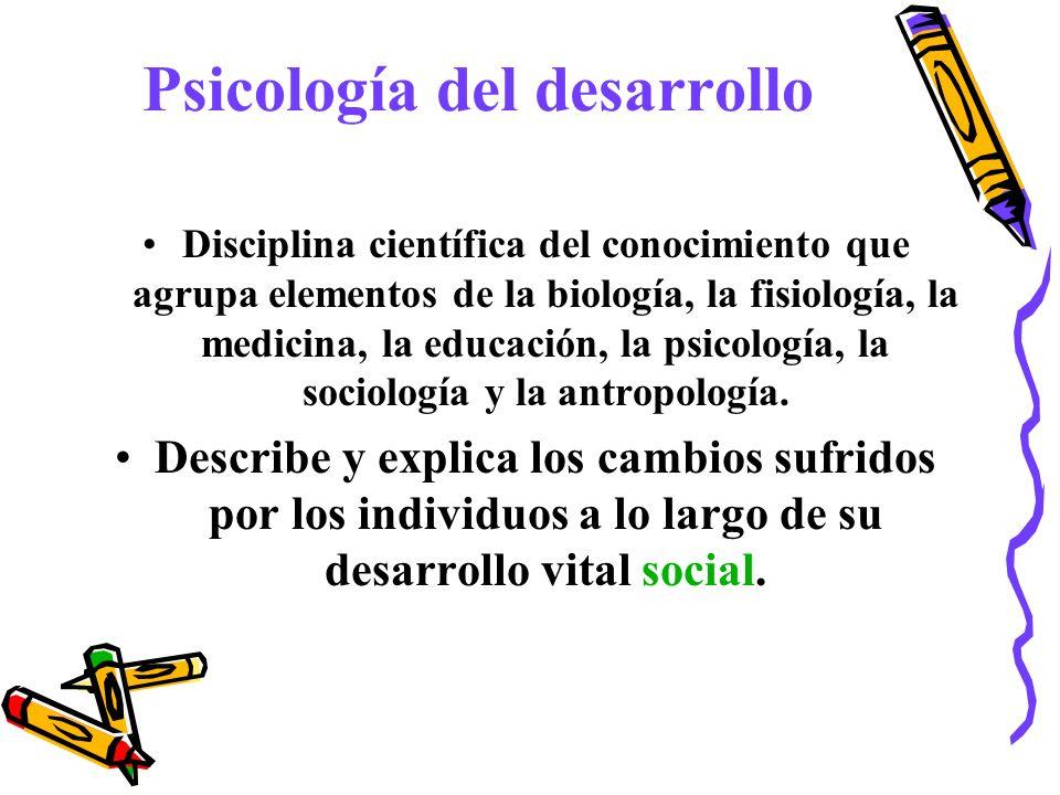 Disciplina científica del conocimiento que agrupa elementos de la biología, la fisiología, la medicina, la educación, la psicología, la sociología y l