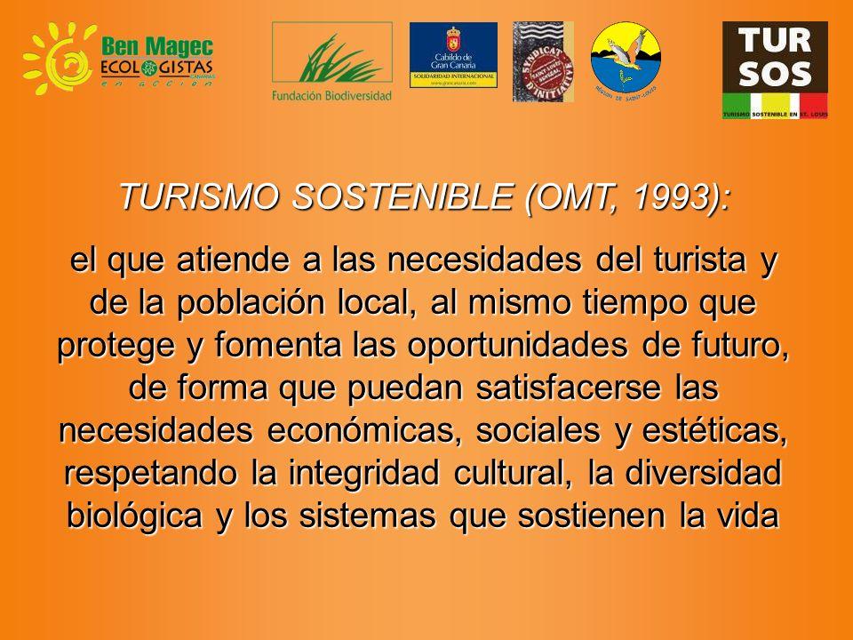 OBJETIVO GENERAL Convertir Canarias en fuente emisora de turismo sostenible para la región de S.