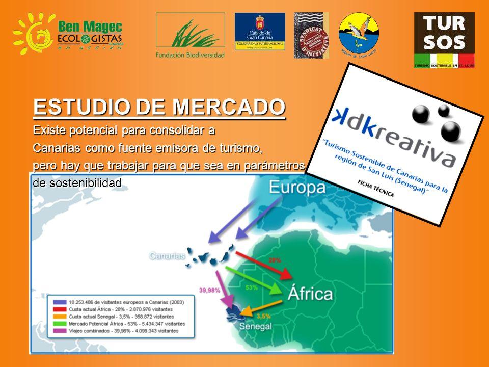 ESTUDIO DE MERCADO Existe potencial para consolidar a Canarias como fuente emisora de turismo, pero hay que trabajar para que sea en parámetros de sostenibilidad