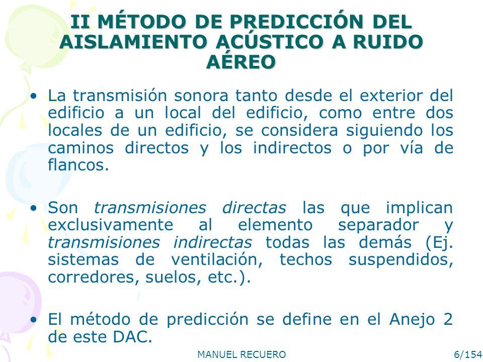 MANUEL RECUERO17/154 III SOLUCIONES ACEPTADAS III.3 Cubiertas