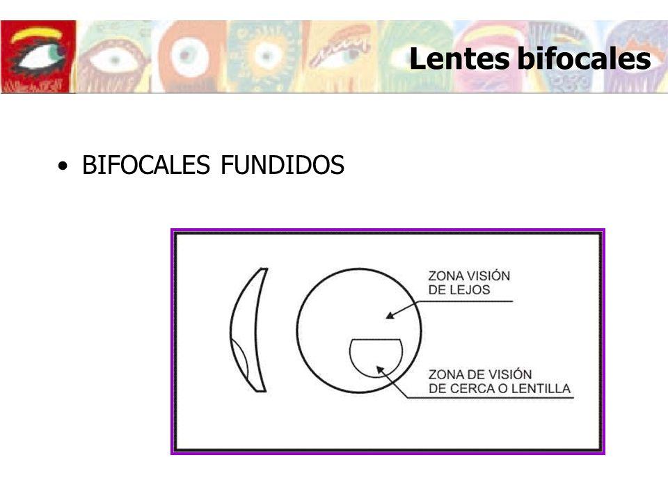 Lentes bifocales BIFOCALES FUNDIDOS