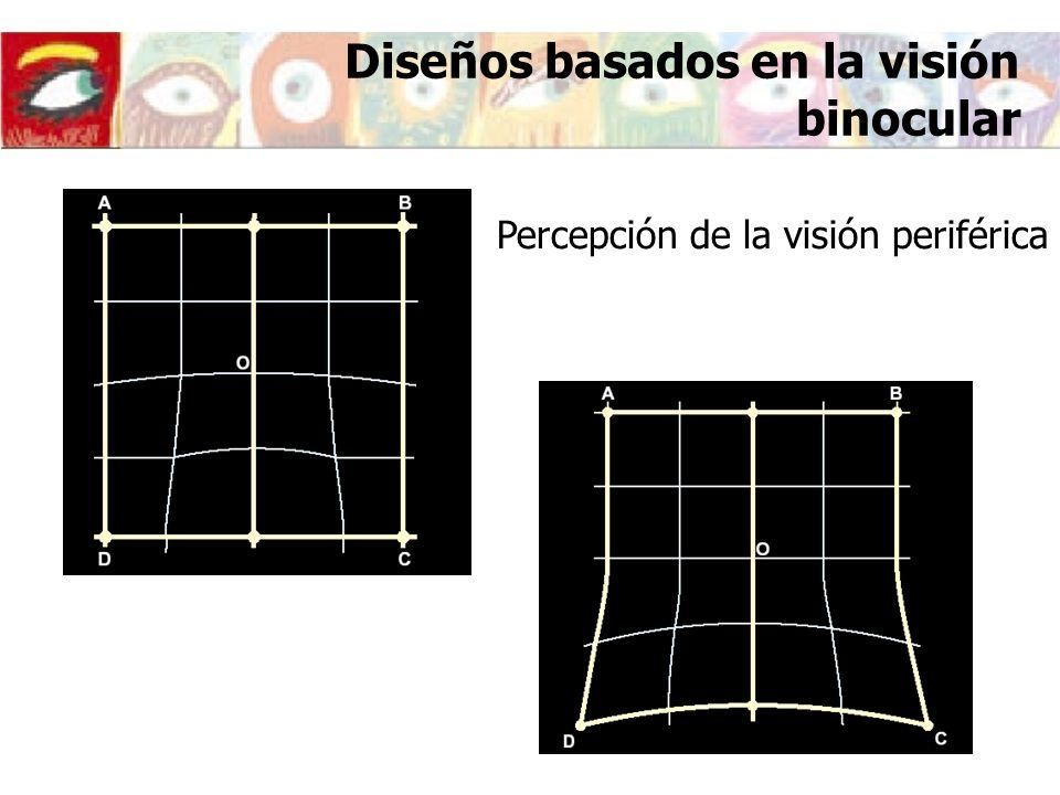 17 Diseños basados en la visión binocular Diseño simétricoDiseño asimétrico
