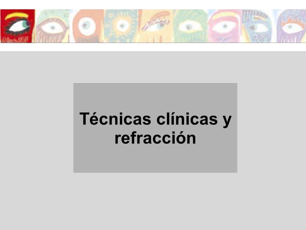 Antecedentes personales visuales y oculares o Traumas oculares o Está utilizando algunas gotas o pomadas para los ojos.