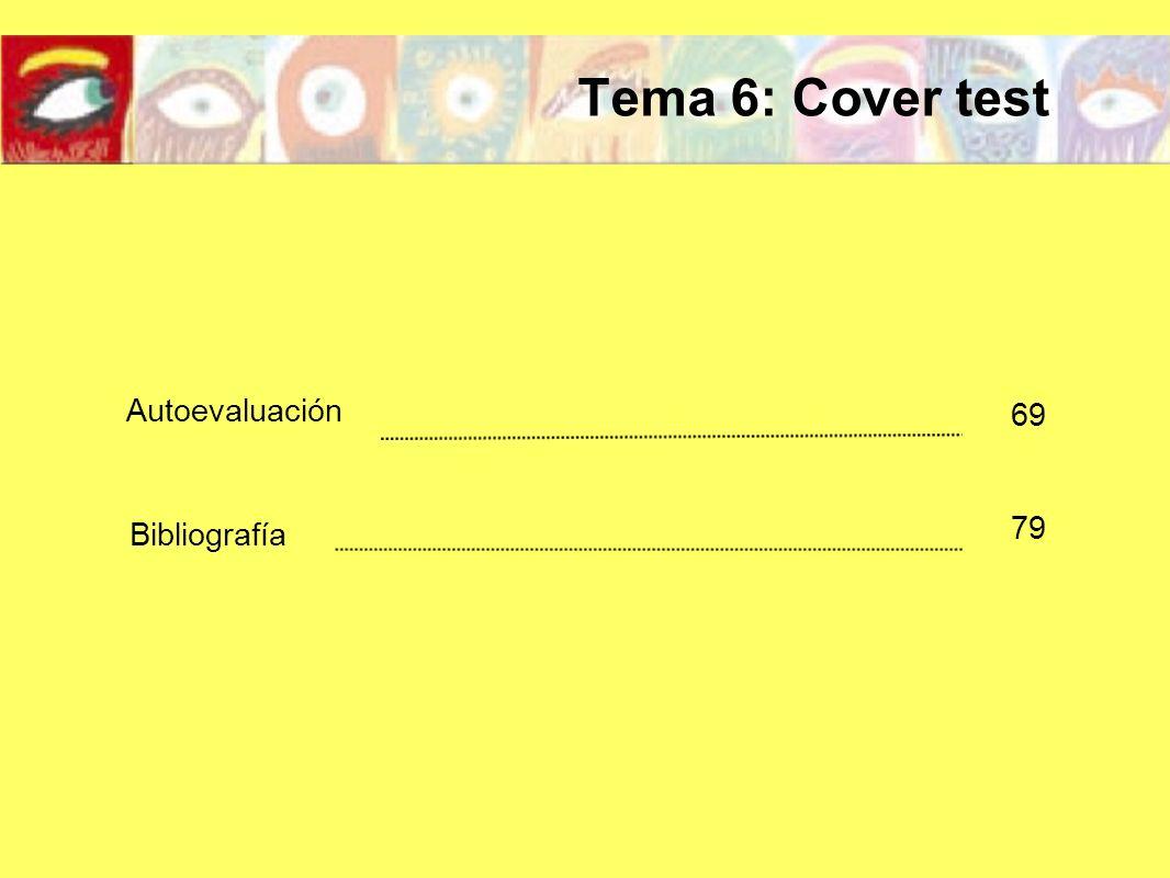 El cover test es una prueba optométrica que nos pone en evidencia la presencia de un estrabismo o de una foria.
