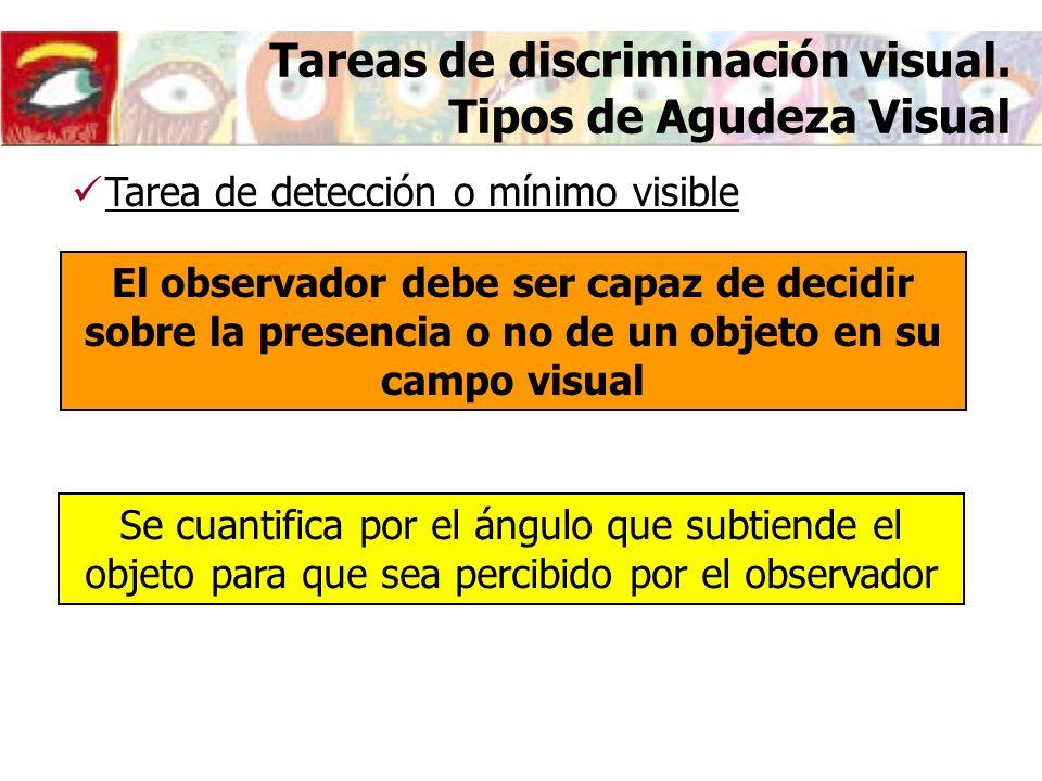 Optotipos para la medida de la agudeza visual Cartas de optotipos Otras cartas Agudeza Visual infantil