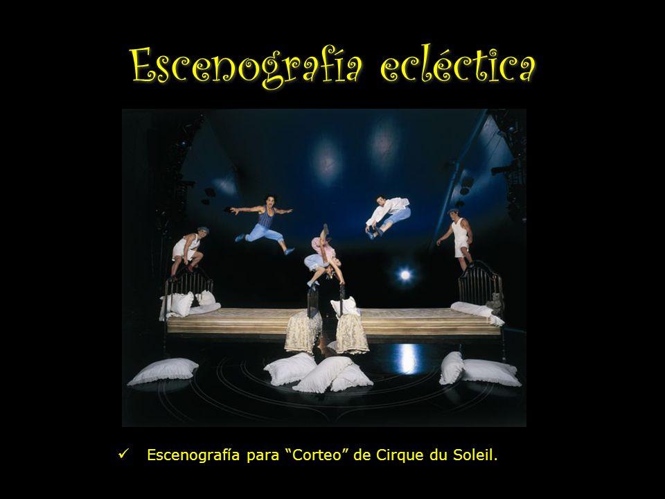 Escenografía para Corteo de Cirque du Soleil.
