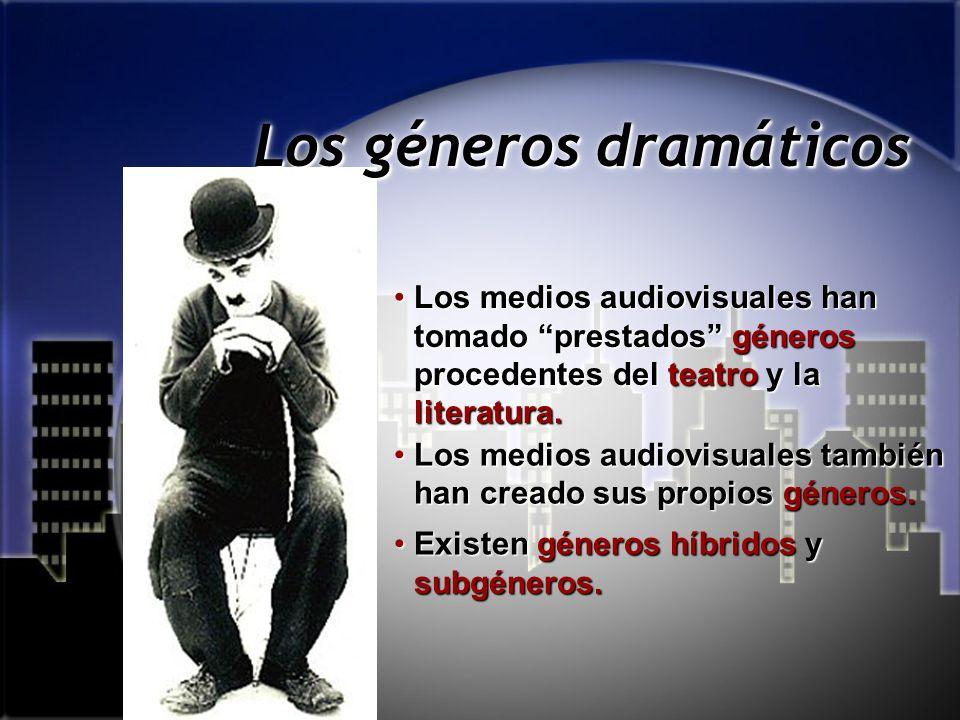 Los géneros dramáticos Los métodos de escritura dramática están condicionados por los géneros.Los métodos de escritura dramática están condicionados p