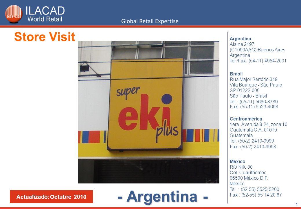2 Super Eki Plus – Av. Rivadavia 1900 – Capital Federal - Buenos Aires - Argentina