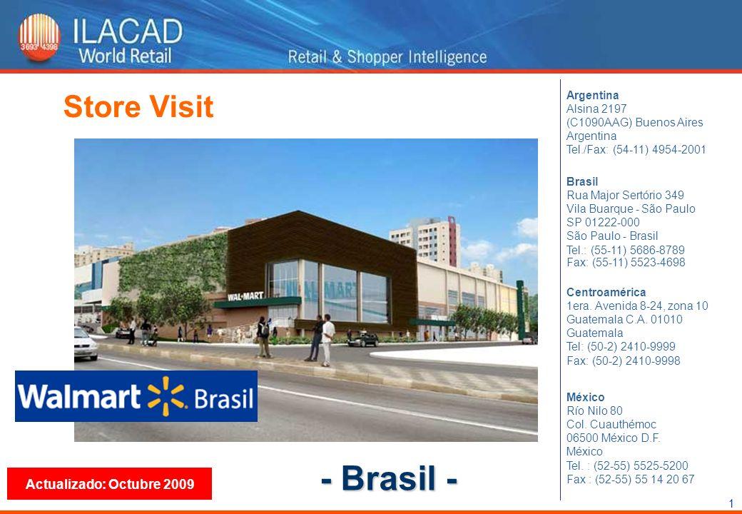 1 Store Visit Actualizado: Octubre 2009 Argentina Alsina 2197 (C1090AAG) Buenos Aires Argentina Tel./Fax: (54-11) 4954-2001 México Río Nilo 80 Col. Cu