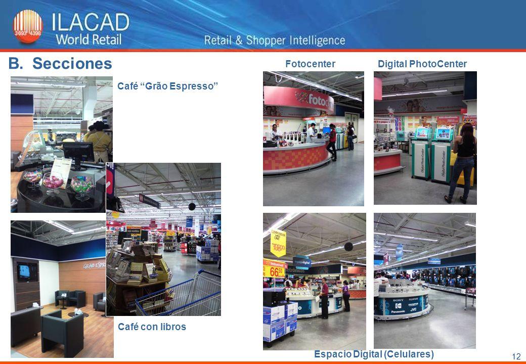 12 Café Grão Espresso FotocenterDigital PhotoCenter Café con libros Espacio Digital (Celulares) B.Secciones