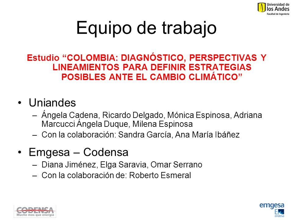 Emisiones per capita Tomado de (C. Figueres, 2008)