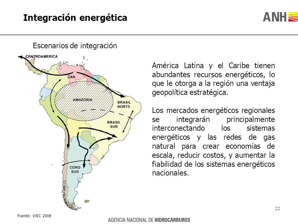 América Latina y el Caribe tienen abundantes recursos energéticos, lo que le otorga a la región una ventaja geopolítica estratégica. Los mercados ener