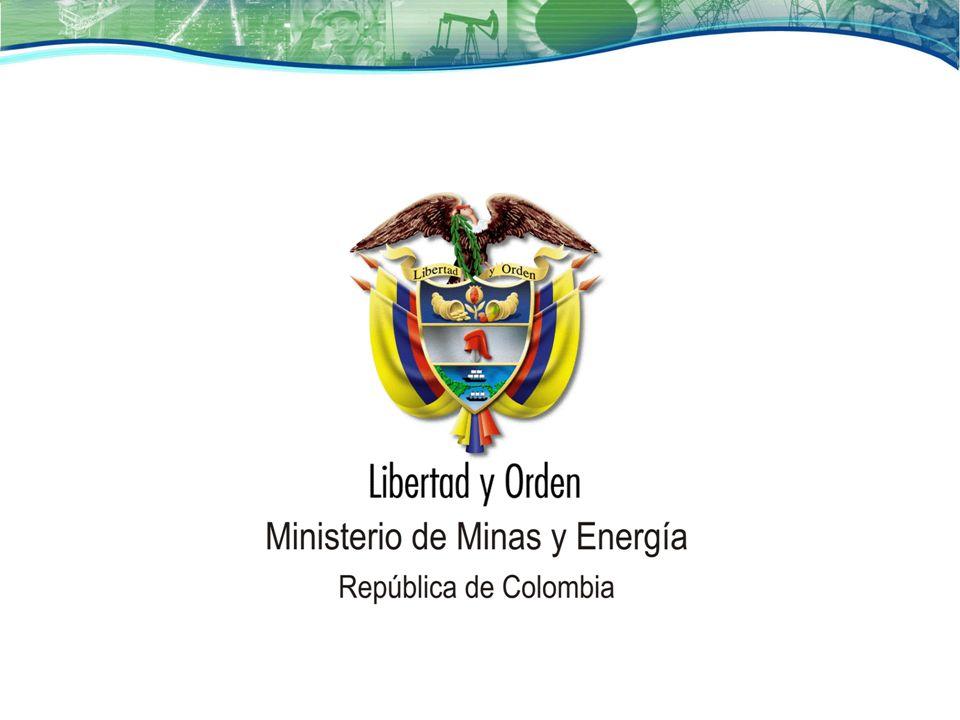 Producción y Exportaciones de Minerales – Principales productos ColombiaUnidades Producción 2008 Export.2008 US$ Mn CarbónTon73.500.0005.043,3 OroLibras34.320.000891 NíquelTon92.000.000863,6 EsmeraldasQuilates2.120.000154 TMF: Toneladas Métricas Finas Fuente: Ministerio de Energía y Minas Perú PerúUnidades Producción 2008 Export.2008 US$ Mn Cobre TMF1.267.8677,663.2 Oro Gramos Finos 179.870.4735,588.0 Zinc TMF1.602.5971,466.6 Molibdeno TMF16,7211,079.4 HierroTLF5.160.707385.0 ChileUnidades Producción 2008 Export.2008 US$ Mn Cobre TMF5.363.57632.807.4 OroKg39.162- ZincTMF40.519- PlomoTMF3.985- Platakg1.405.020339.2 Fuente: Ministerio de Minas y Energía Colombia – Asomineros TMF: Toneladas Métricas Finas Fuente: Ministerio de Minería.