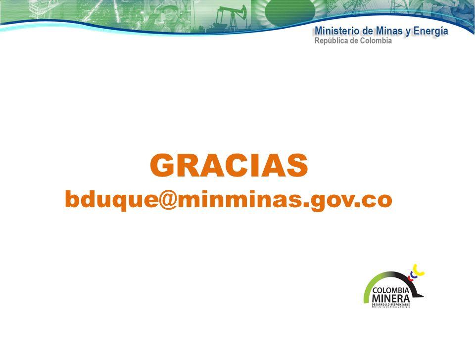 GRACIAS bduque@minminas.gov.co