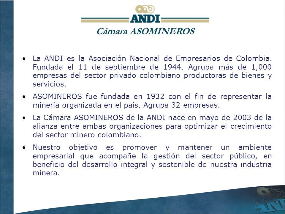 La ANDI es la Asociación Nacional de Empresarios de Colombia.
