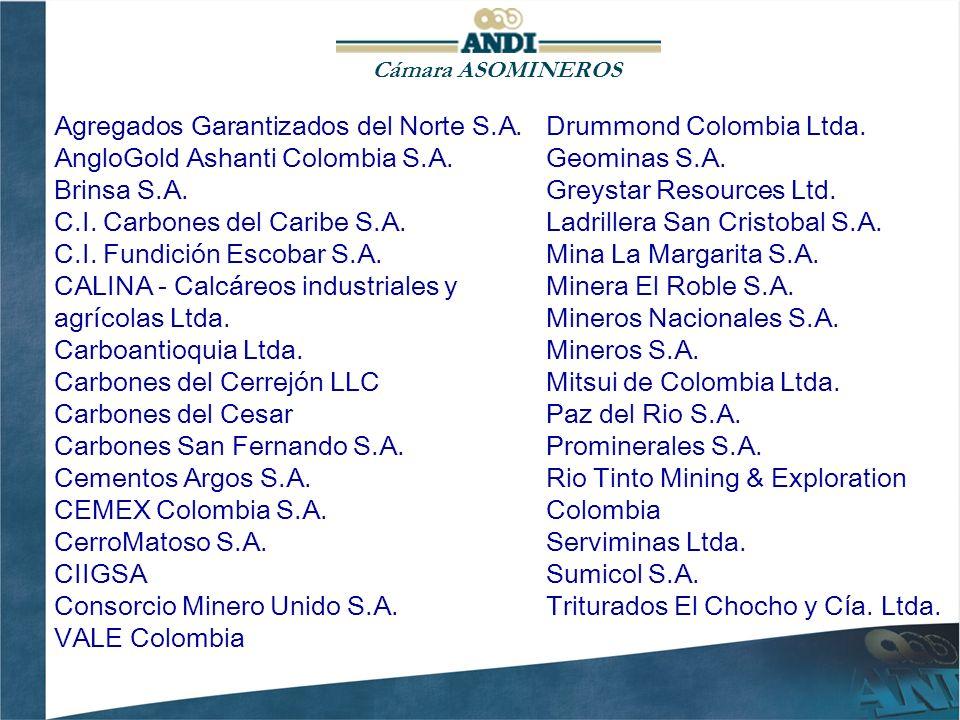 Agregados Garantizados del Norte S.A. AngloGold Ashanti Colombia S.A.