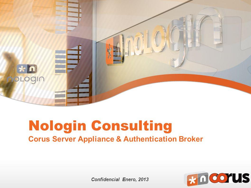 Nologin Private and Confidential 2 Agenda Nologin Authentication Broker Nologin Authentication Broker Origen de la solución Objetivos de diseño ¿Para qué sirve.