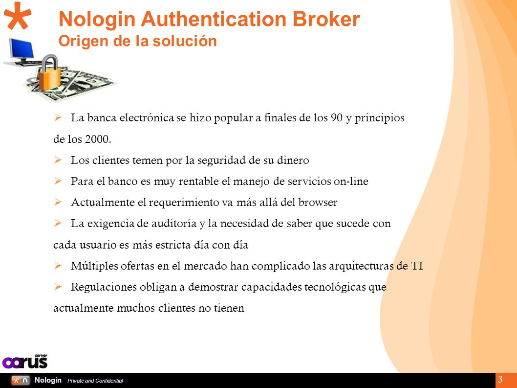 Nologin Private and Confidential 14 Corus Server Appliance v2.0 (On System X)