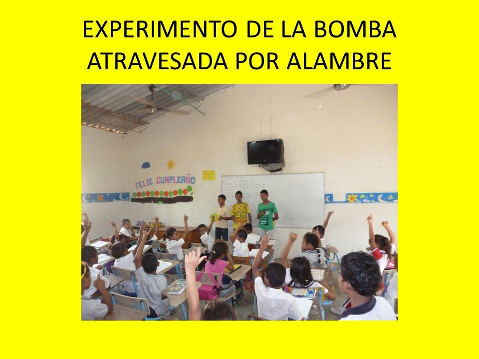 EXPERIMENTO DE PRESION