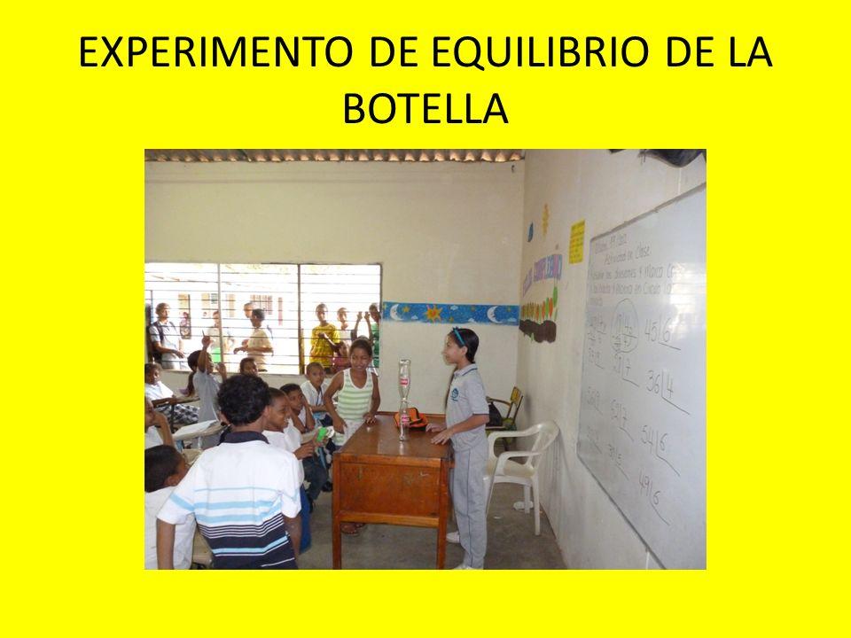 EXPERIMENTO DE PRODUCCION DE DIOXIDO DE CARBONO