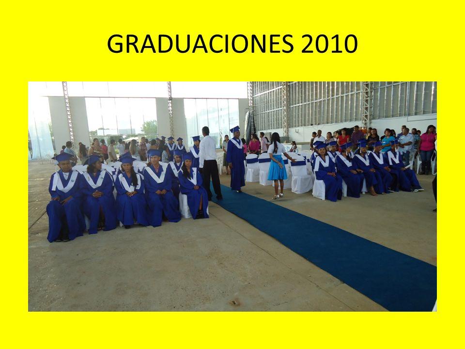 GRADUACIONES 2010