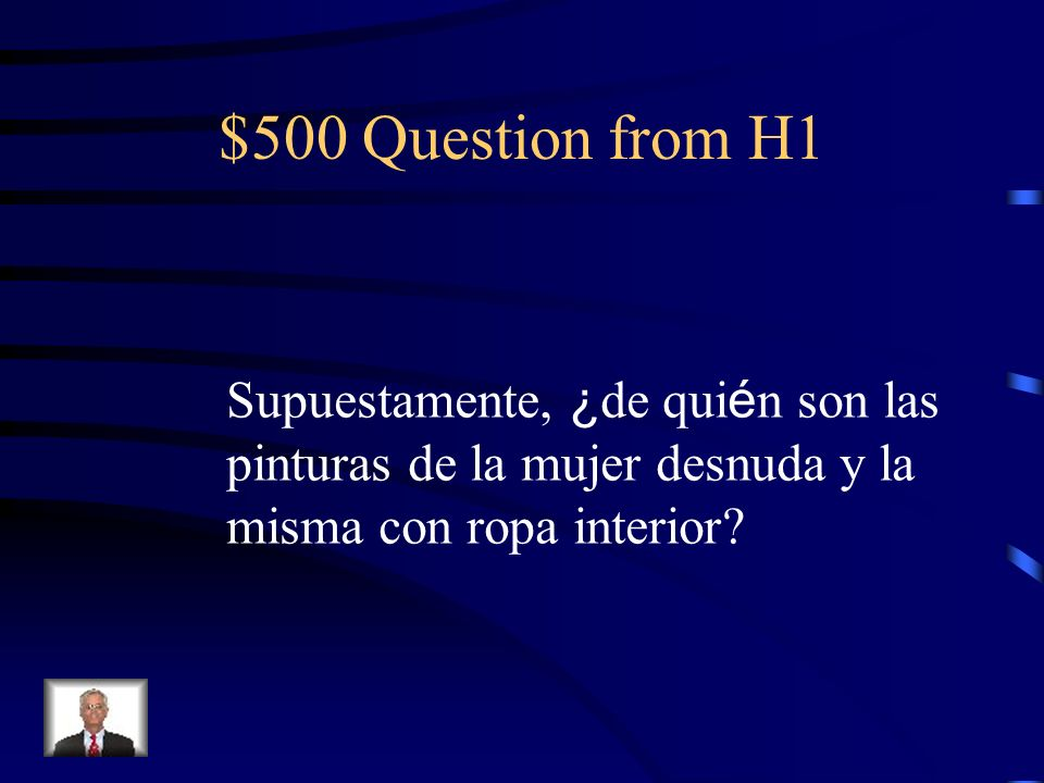 $400 Answer from H1 La Quinta del Sordo