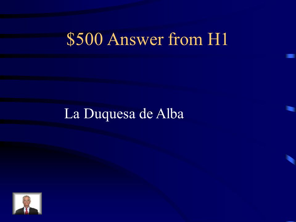 $500 Question from H1 Supuestamente, ¿ de qui é n son las pinturas de la mujer desnuda y la misma con ropa interior