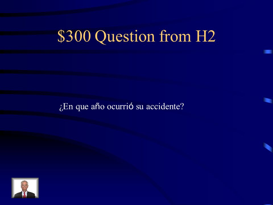 $200 Answer from H2 De polio