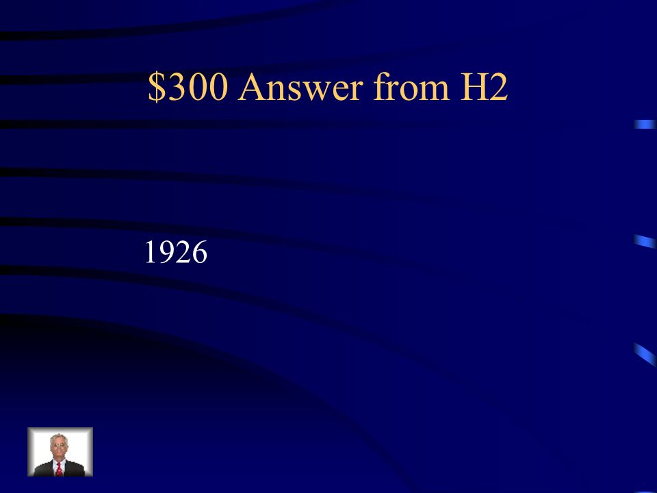 $300 Question from H2 ¿En que a ñ o ocurri ó su accidente