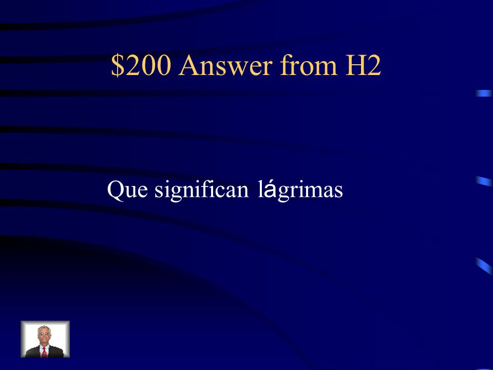 $200 Question from H2 ¿Qu é dice Prudencia sobre las perlas