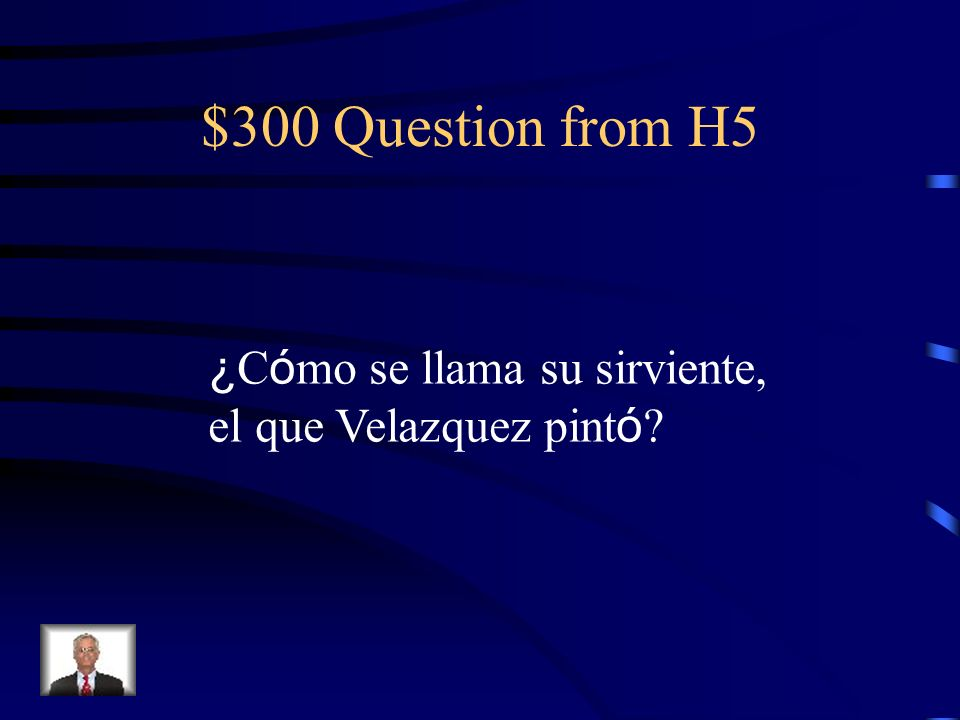 $200 Answer from H5 De Sevilla
