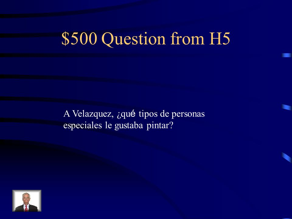 $400 Answer from H5 Con la hija de su profesor, Pacheco