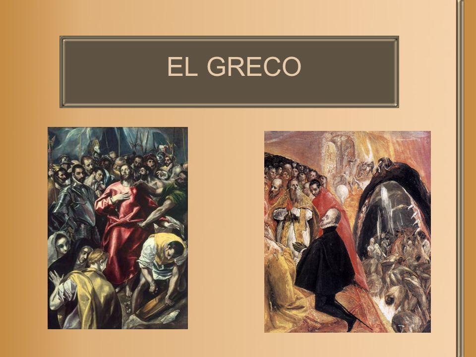Algunos datos El verdadero nombre de El Greco era Doménikos Theotokópoulos.