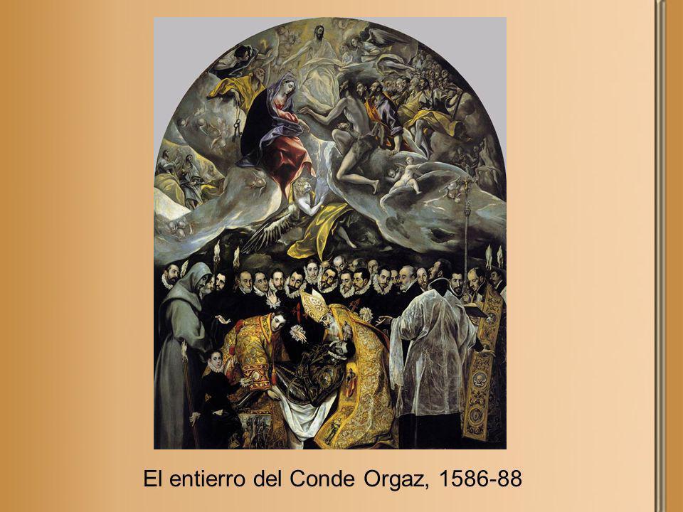El entierro del Conde Orgaz, 1586-88