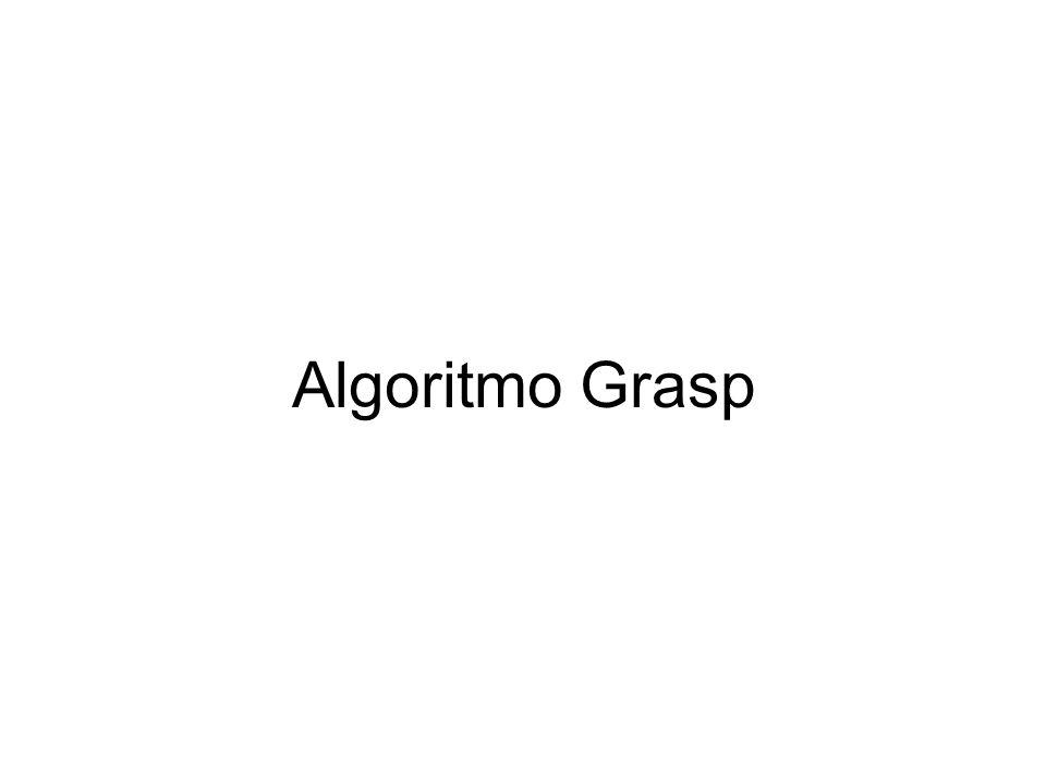 Algoritmo Grasp
