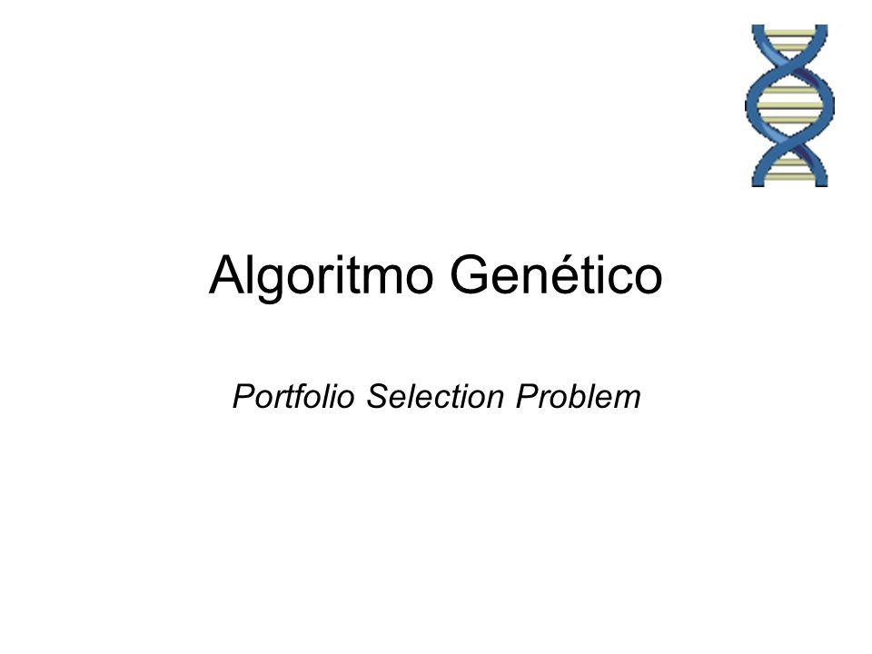Algoritmo Genético Flujo de Genético