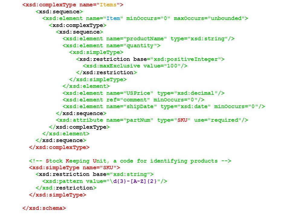 espacio de nombres del esquema annotation...