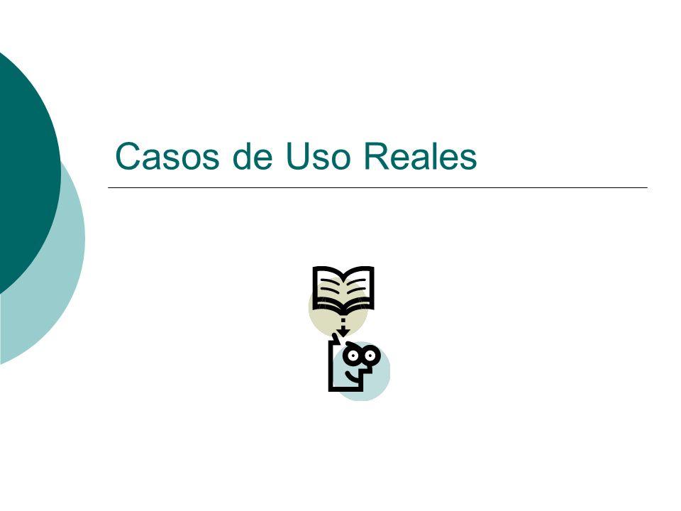 Casos de Uso Ayudan a expresar los procesos del dominio y el ambiente externo.