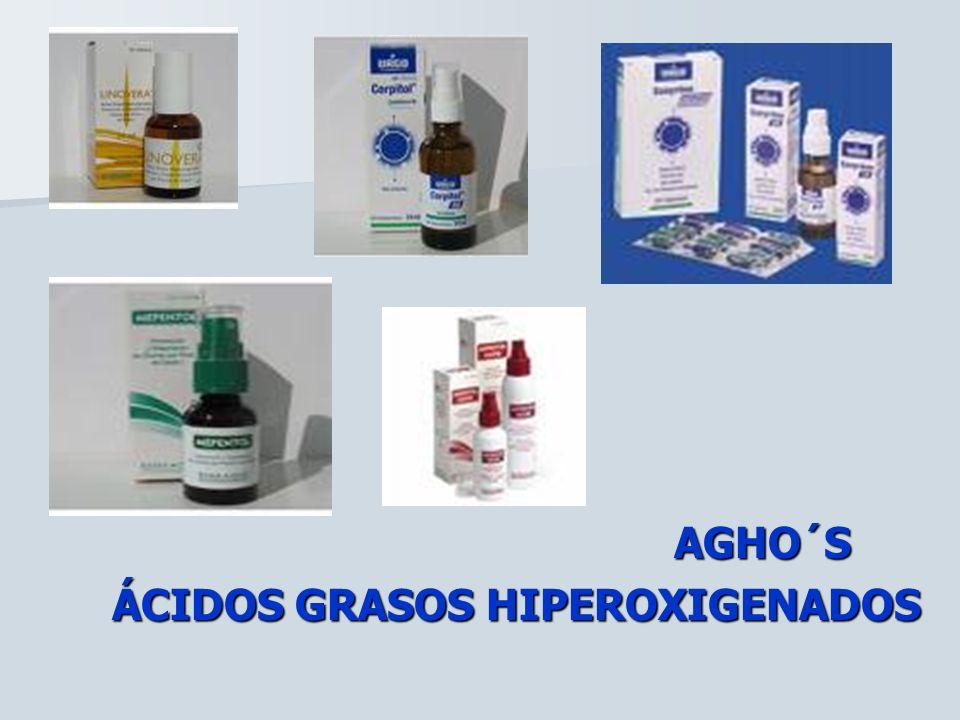 AGHO´S AGHO´S ÁCIDOS GRASOS HIPEROXIGENADOS