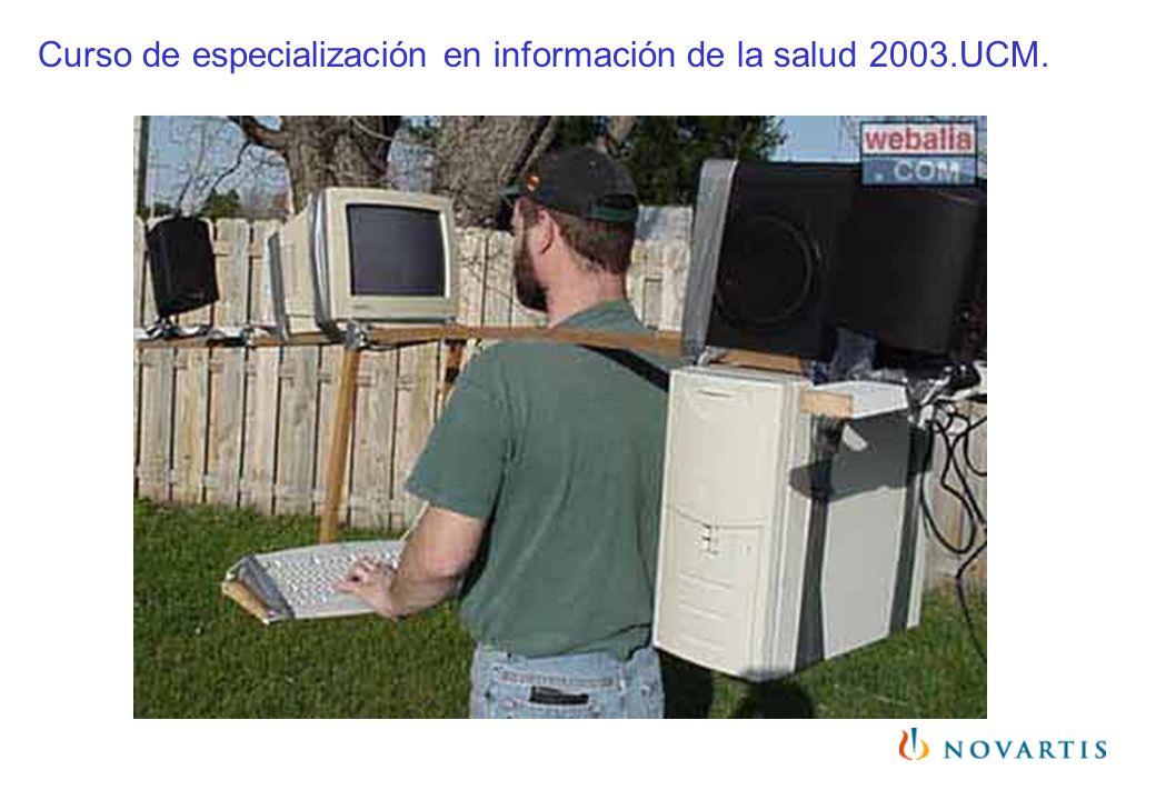 Curso de especialización en información de la salud 2003.UCM.
