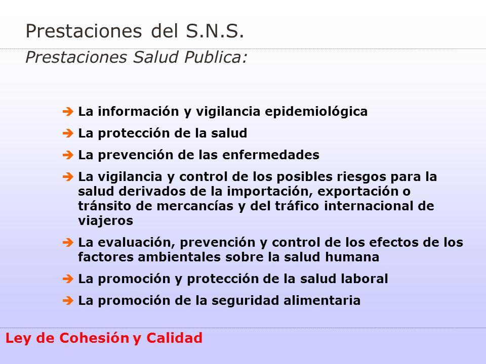 Alta inspección Coordinación de la Inspección en el SNS : Ley de Cohesión y Calidad La Alta Inspección del Estado establecerá mecanismos de coordinación y cooperación con los Servicios de Inspección de las Comunidades Autónomas, actuaciones dirigidas a impedir todas las forma de fraude.