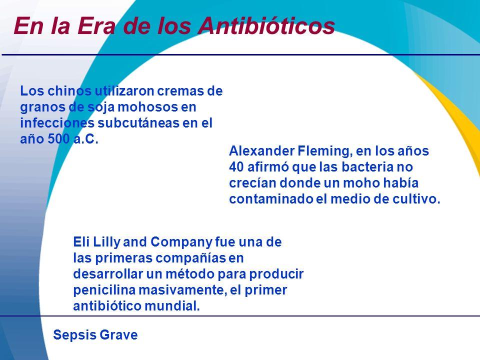 Sepsis Grave Cuidados de soporte y Terapias en Investigación Antiendotoxina Mab (HA-1A, E5) Glucocorticoides; Anti-TNF Mab; receptor TNF soluble; antibradiquinina; antagonista de los receptores de IL-1; antagonista PAF Ibuprofeno Bloquear el disparo de la respuesta inmune Inhibir la respuesta inflamatoria Bloquear prostaglandinas Terapias en Investigación que han fallado Lynn and Cohen.