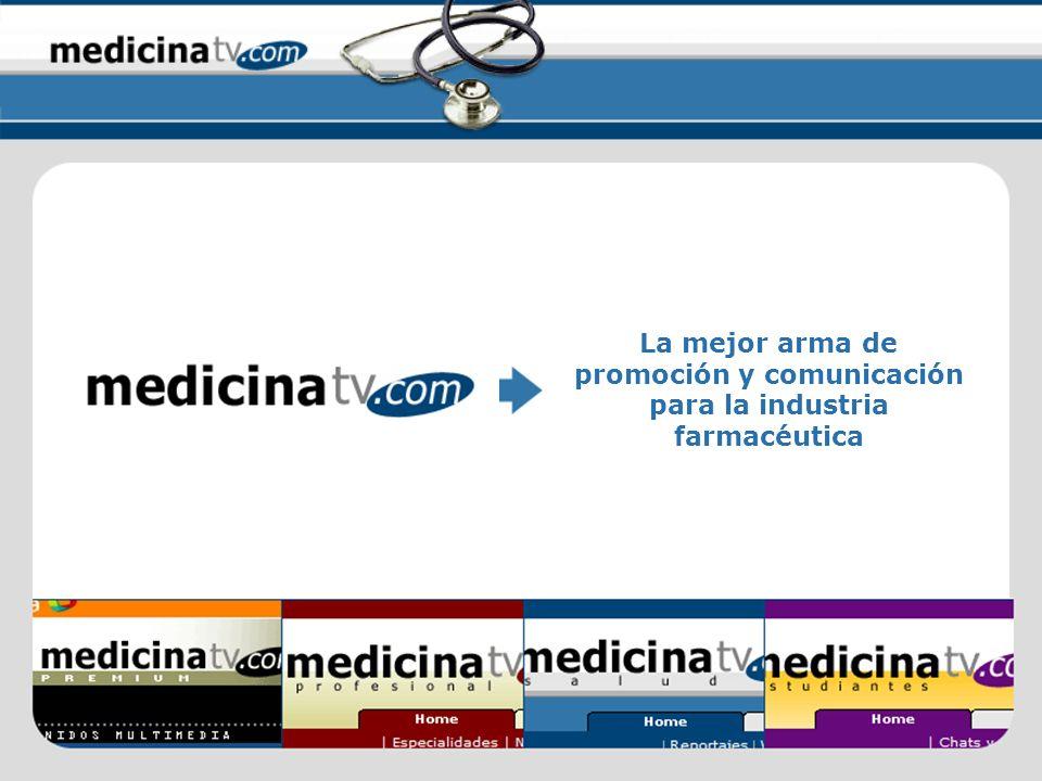 La mejor arma de promoción y comunicación para la industria farmacéutica