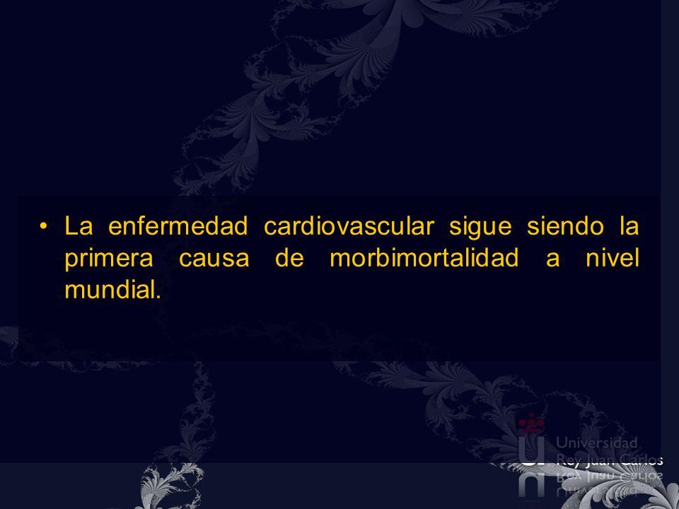 Enfermedad cardiovascular es la causa principal de muerte a nivel mundial 1 Generado a partir de los datos de la OMS.: Organización Mundial de la Salud.