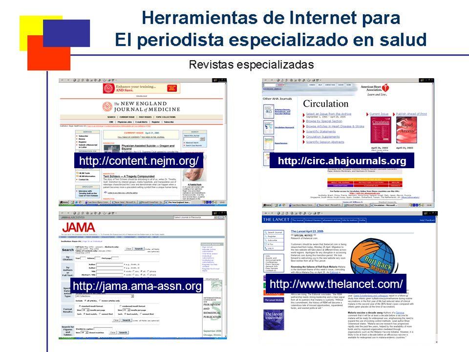 http://content.nejm.org/ http://circ.ahajournals.org http://jama.ama-assn.org http://www.thelancet.com/