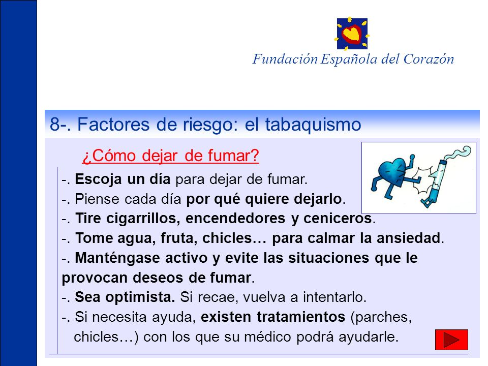 Fundación Española del Corazón -.